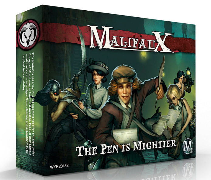 Malifaux. The Pen is Mightier