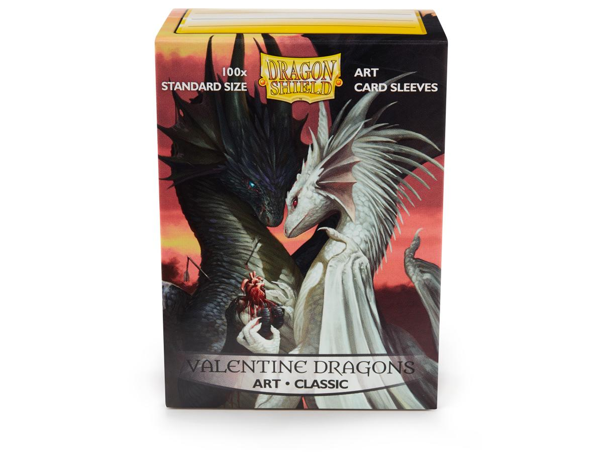Протекторы Dragon Shield с рисунком Valentine Dragons