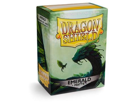 Протекторы Dragon Shield матовые Emerald
